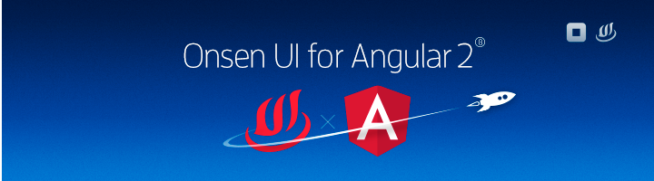 Onsen UI for Angular 2